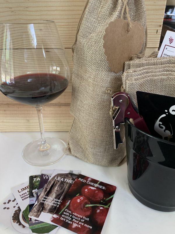 red wine tasting pack