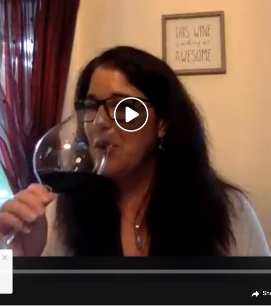 wine tasting with Alison